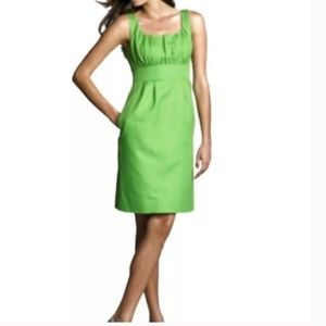 J Crew Cotton Cady Sydney Green Dress St Patricks